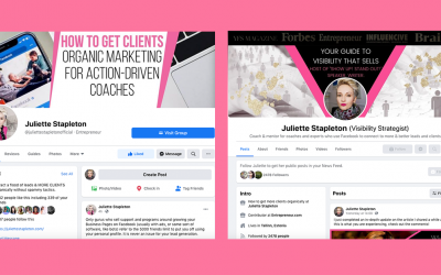 Facebook Profile vs. Business Page: Which Benefits Your Coaching Business Most?